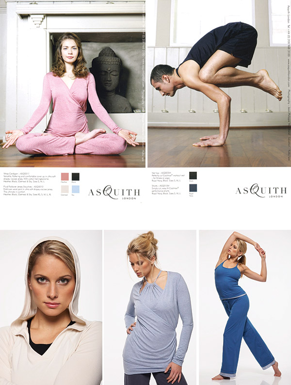 Asquith's ethical activewear journey.