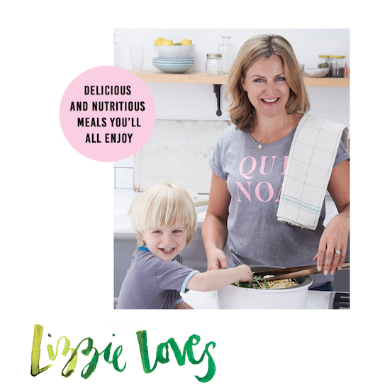 Lizzie kiNG - lizzie, Loves Healthy, Family Food cook book.