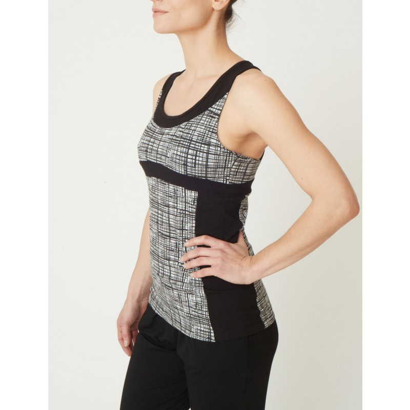 Bamboo yoga top by Asquith