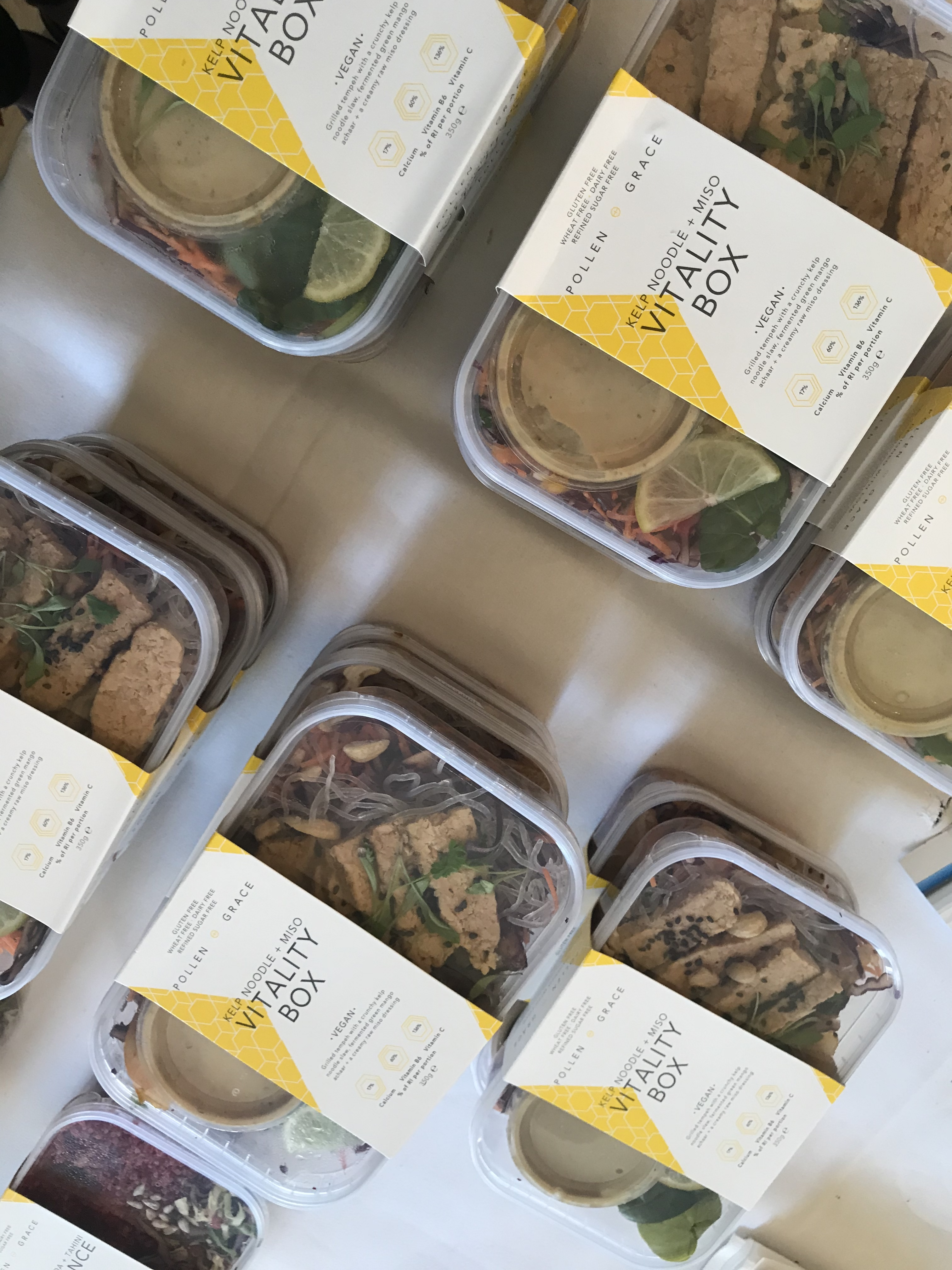 Lunch boxes from Pollen and Grace