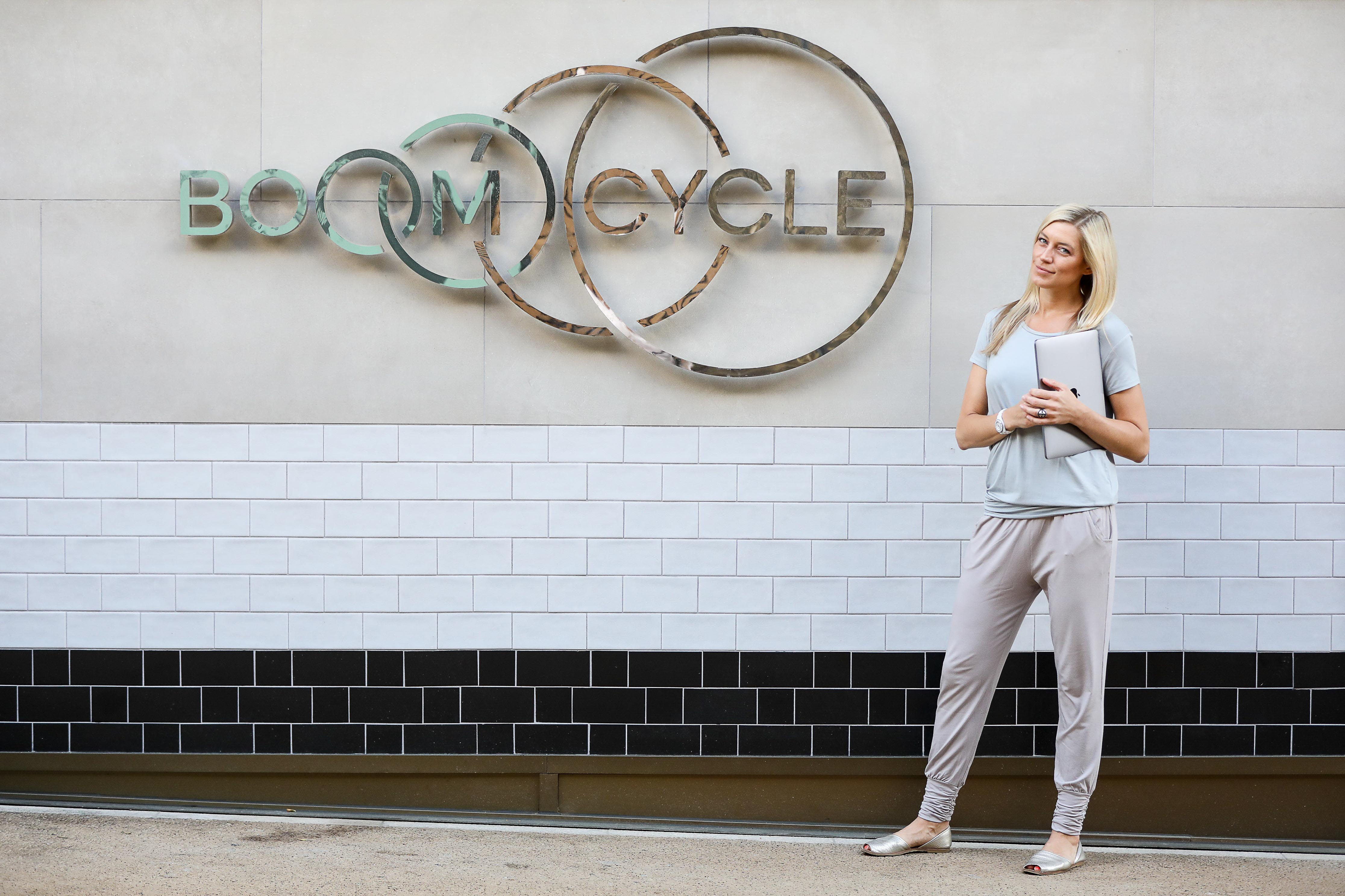 Hilary Rowland wears Asquith sustainable activewear
