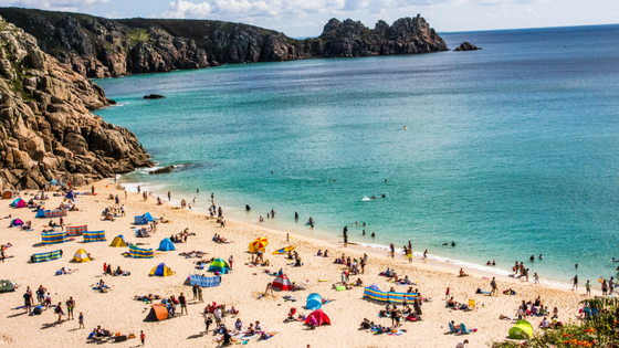Cornwall in the Summer