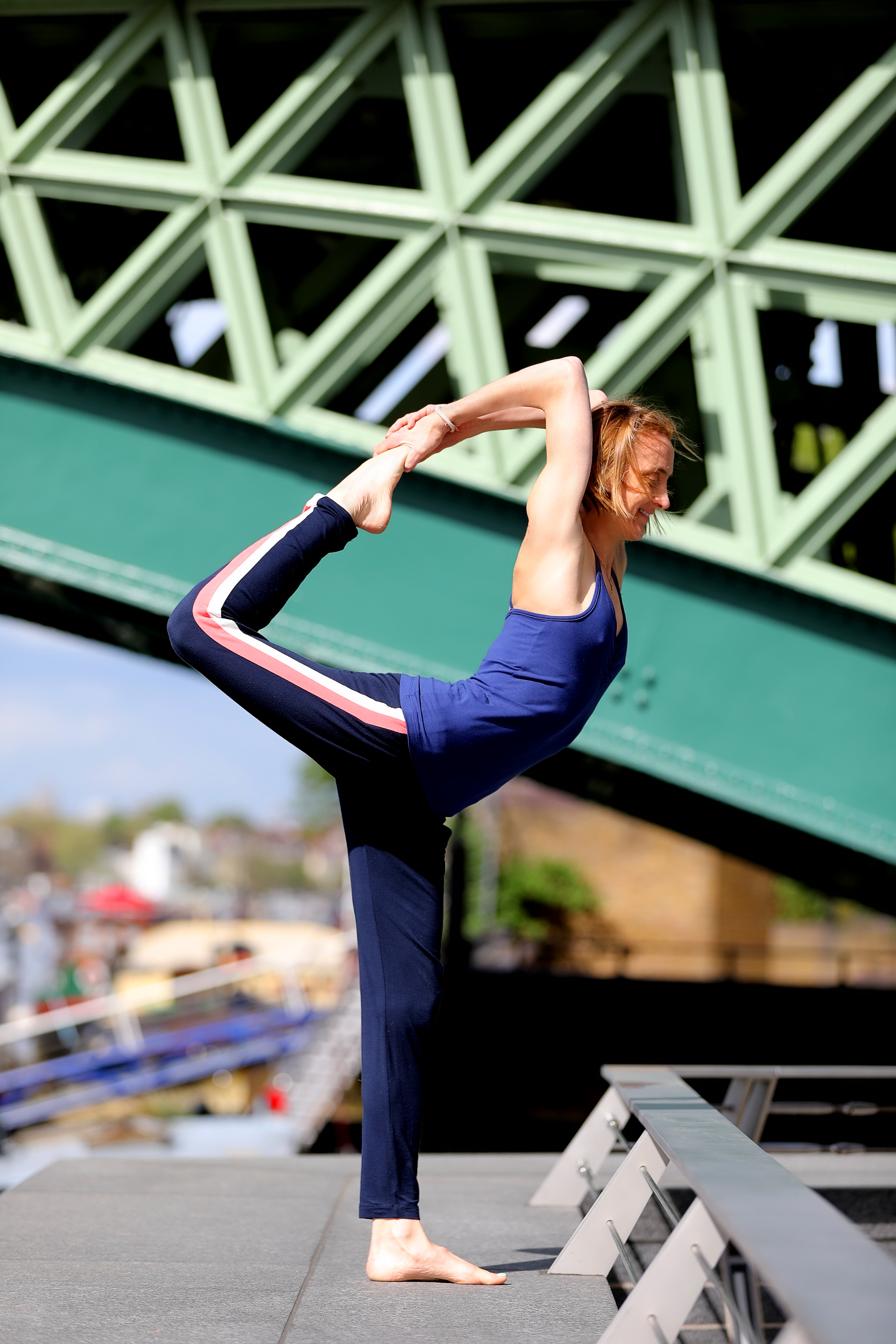 Yoga pose in Asquith eco-friendly activewear