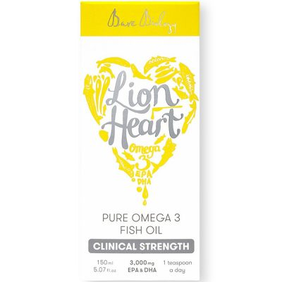 Bare Biology Lion Heart Fish Oil