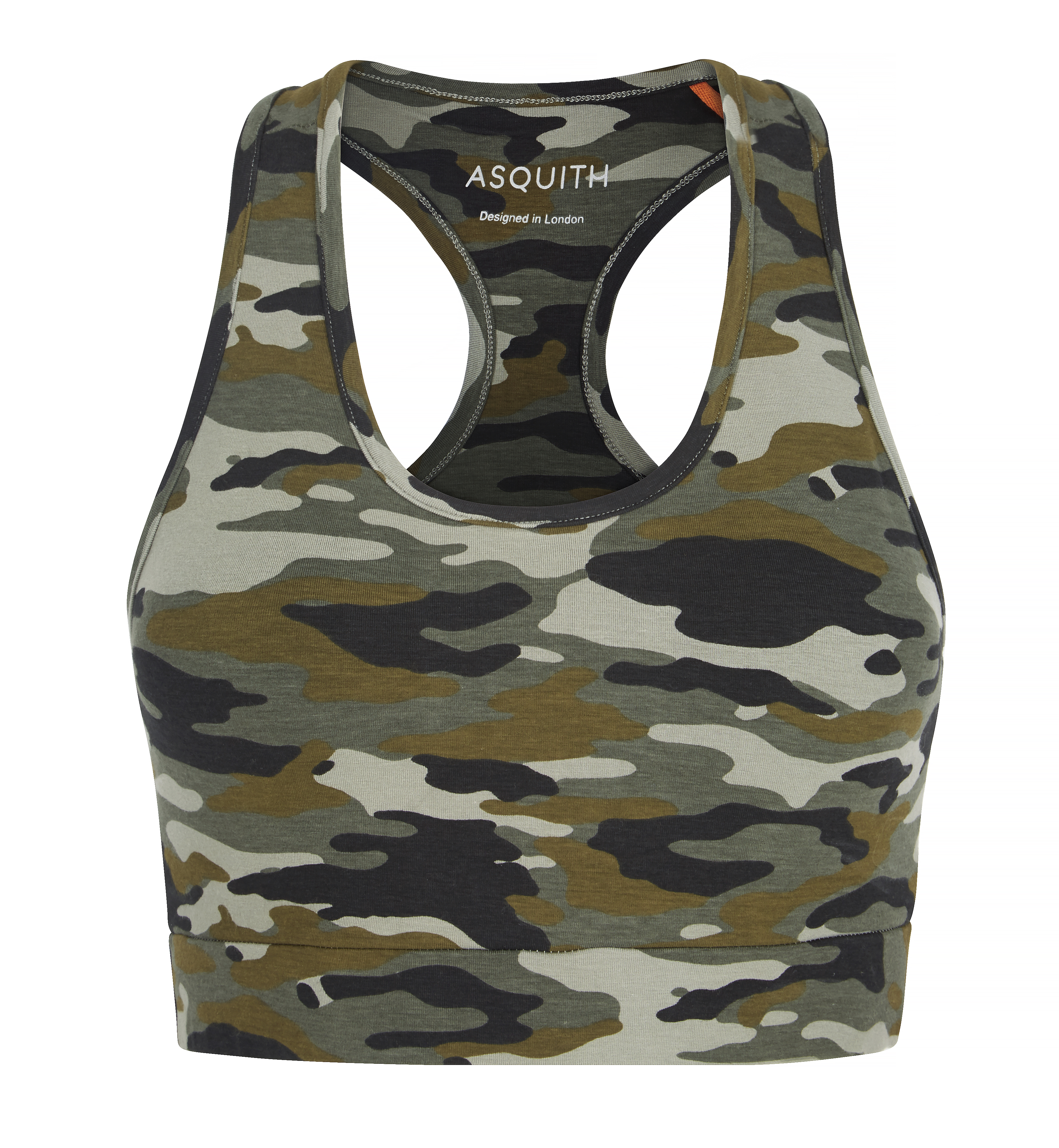 Camouflage yoga top - asquith