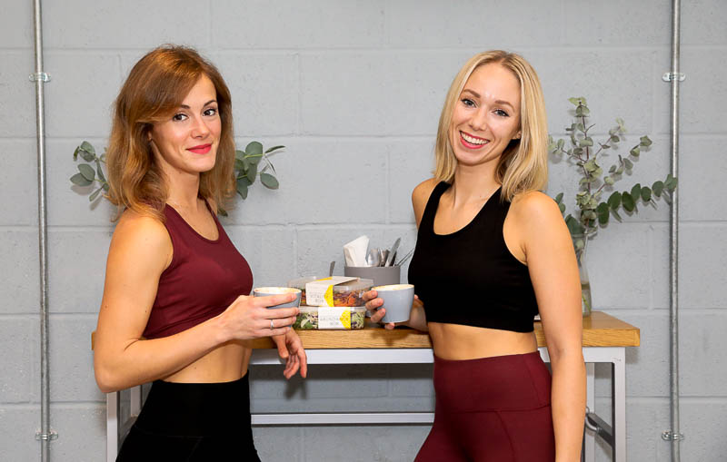 Pollen and Grace founders Stephanie and Kristina are wearing Asquith sustainable activewear